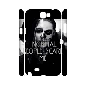 Normal people scare me High Qulity Customized 3D Cell Diy For Touch 4 Case Cover Normal people scare me Diy For Touch 4 Case Cover 3D Cover Case