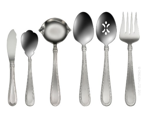 (Oneida Interlude 6-Piece Serving Set)