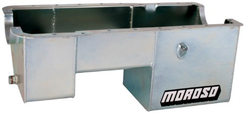 Moroso 20520 Oil Pan for Ford 351W Engines in Fox Chassis ()