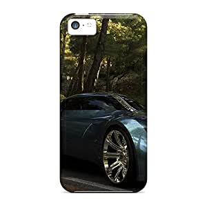 Protection Case For Iphone 5c / Case Cover For Iphone(2025 Bugatti Aerolithe Concept)