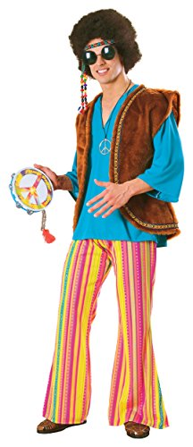 [15812 (XL John Q Woodstock Hippie Adult Hippie Costume] (John Q Woodstock Adult Costumes)