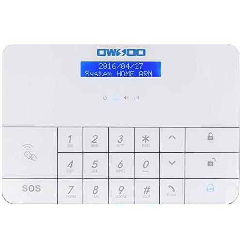 Lovely Amazon.com : OWSOO Wireless LCD GSM U0026 SMS Home House Security Burglar  Intruder Alarm System With Auto Dialer : Camera U0026 Photo
