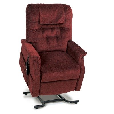 (PR-200 Value Series Capri Reclining Chair Fabric: Rosewood, Extra Pocket: With Extra Pocket, Hand Control: Right Side (Standard))