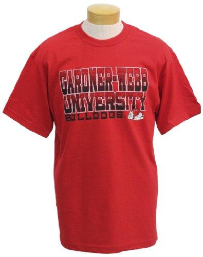 NCAA Gardner-Webb Bulldogs Men's Acho Short Sleeve T-Shirt (Red, Small)