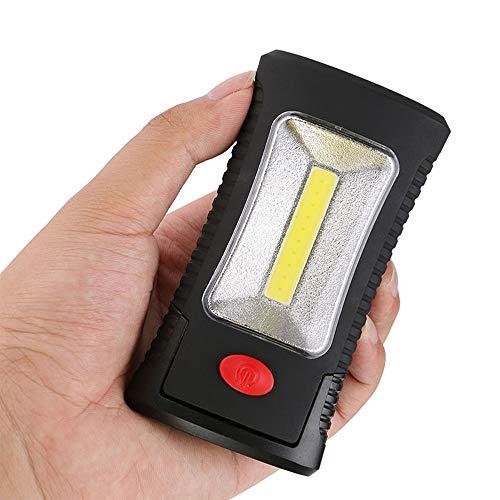 Jenify COB LED magnético luz de Trabajo Plegable Gancho Bolsillo antorcha lámpara práctica Tienda de campaña luz...