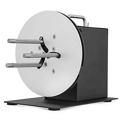 ETE ETMATE Rewinding Machine 220 MM Label Tags Rewinder 1-4 Inch Core Automatic Label Rewinder Synchronize with Printer (220MM 1-4 Inch Core)