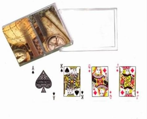 K&A Company Pack 2 Deck Playing Gemaco Card ''Expedition'' Case Pack 24