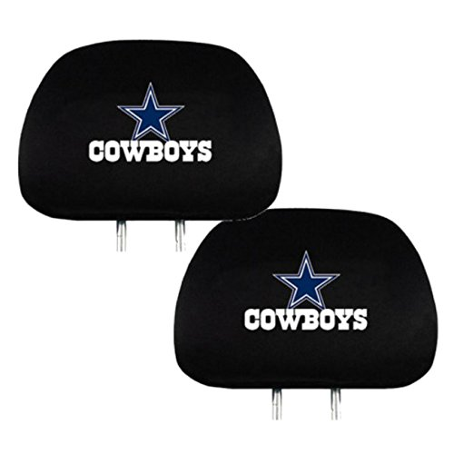 Team ProMark Official National Football League Fan Shop Authentic Headrest Cover (Dallas Cowboys)