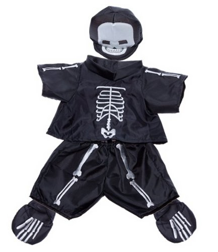 [Skeleton Costume Outfit Teddy Bear Clothes Fit 14