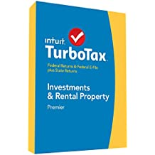 TurboTax Premier 2014 Fed + State + Fed Efile Tax Software [Old Version]