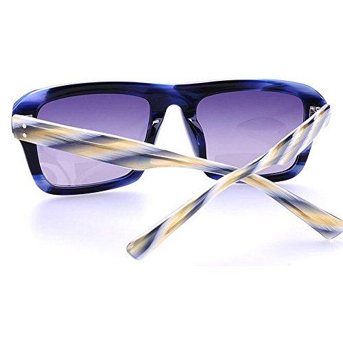 mujer para TAC sol al Gu acetato Marco fibra Playa de aire Gafas Leg de Polarized Peggy Conducción Gafas Rivet libre Personalidad Lens Decoration Strips sol de Pesca Protección UV de 8wpZ0q