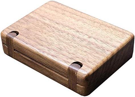 Caja De Tabaco De Madera Elegante Y Hermosa, Carpeta De Primavera Verde De Madera De Nuez, Se Puede Instalar 10 Cigarrillos: Amazon.es: Equipaje