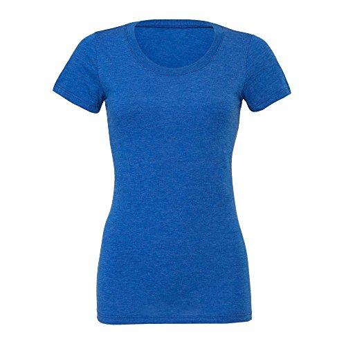 Bella+Canvas - Cameron - meliertes Vintage T-Shirt / True Royal, XL