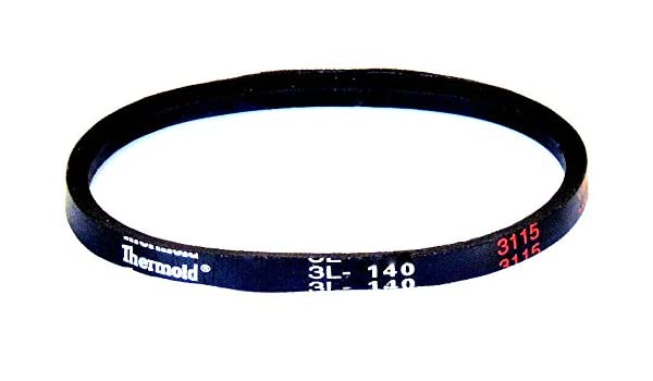 HBD//Thermoid 3L140 FHP Belt Rubber
