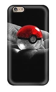 Premium Tpu Poke Ball Cover Skin For Iphone 6