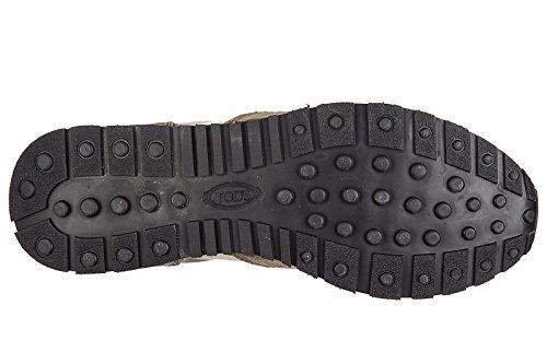 Tods Herrenschuhe Herren Wildleder Sneakers Schuhe all active spoiler matt spor