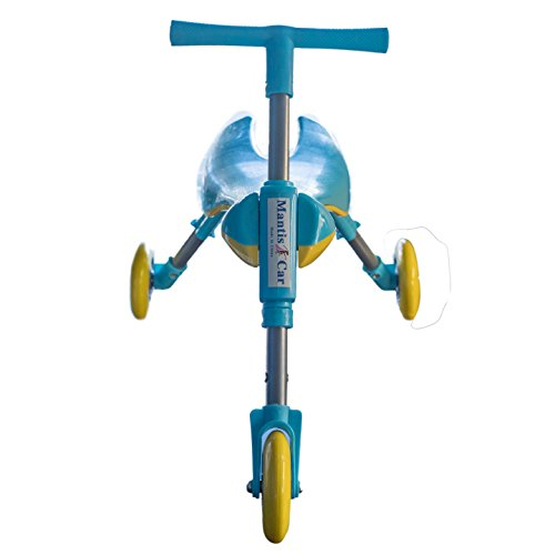 Mr Bigz Foldable Indoor/Outdoor Toddlers Glide Tricycle - No Assembly Required (Blue) by Mr Bigz (Image #2)