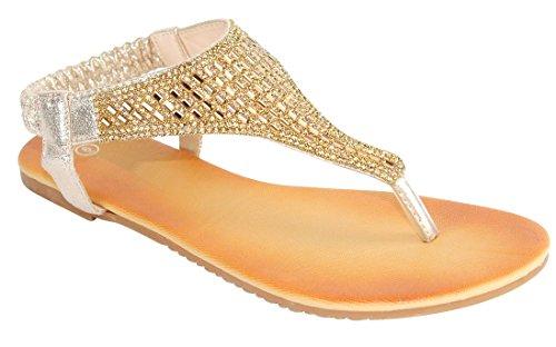 Sandalo Piatto Sandalo Infradito Da Donna Con Cinturino A Tacco Con Cinturino A T Da Donna