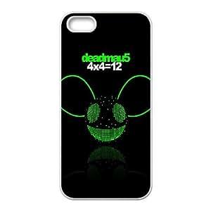 Deadmau5 Album Cover iPhone 5 5s Cell Phone Case White Delicate gift JIS_343626