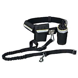 Cinturón Canicross, Manos libres,1-1.35 m, PARA PERROS MÁX:40kg
