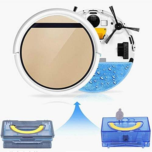 DWDADYYY Aspirateur Robot Intelligent Filtre de réservoir d\'eau pour vadrouille Humide et sèche, capteur, aspirateur Robot à Chargement Automatique