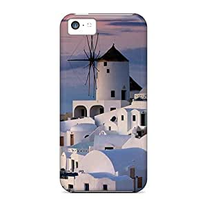 Special Design Back Windmill Phone Case Cover For Iphone 5c