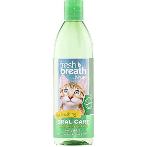 Tropiclean Fresh Breath Plaque Remover Cat Water Additive 16oz