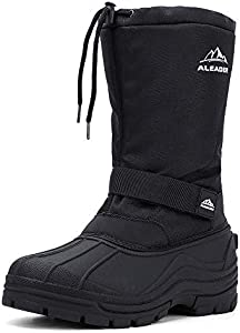 ALEADER Men's Insulated Waterproof Winter Snow Boots