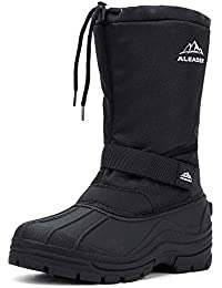 Men's Insulated Waterproof Winter Snow Boots