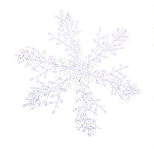 Gracefulvara 30pcs Snowflake Whit Christmas Tree Decorations