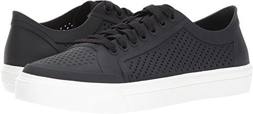 Croc Front Shoe (Crocs Women's Citilane Roka Court W Flat,Black,7 M US)