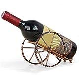 Wine Rack, Oldeagle Wine Rack Stand Bottle Holder Storage for Wedding Party Decor Ornament Gift