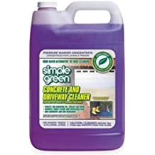Simple Green Concrete/Driveway Phosphate and Bleach-free Pressure Washer Cleaner in 1 gal Bottles