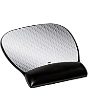 3M Ergonomics Mouse Pad with Gel Wrist Rest, 9.2 and 8.7 Inch, Enhances Mouse at Fast Speeds, Extends Battery upto 50 percent