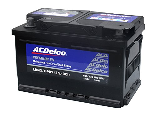 (エーシーデルコ) ACDelco バッテリー LBN3(GP91/27-70P) トップターミナル B0183OTK8W