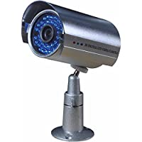BlueFishCam Wide Angle lens 3.6mm CMOS 1000TVL CCTV Camera 36 LED Infrared Color Waterproof With IR-CUT day/night vision With Free bracket & Power Supply