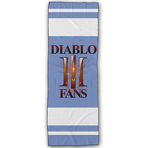 [Diablo Fans Logo Yoga Towel/Sports Towels] (Diablo Reaper Of Souls Costume)