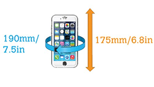 AquaPac Funda acuática para teléfono móvil 6