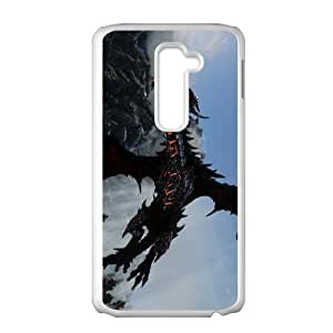 LG G2 Cell Phone Case White Deathwing Kuoqx