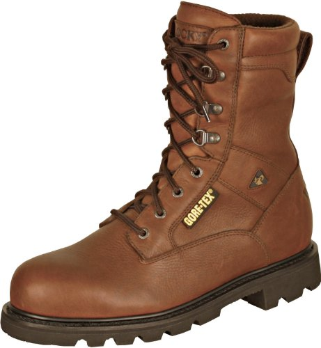 Rocky Men's Original Ranger Uninsulated Work Boot,Brown,9 W US