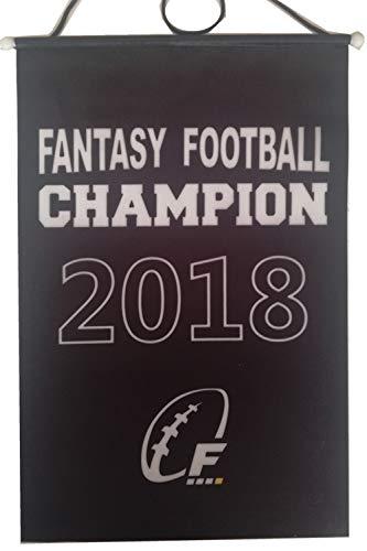 TYSpring 2016 2017 2018 FFL Fantasy Football Championship Banner Flag Trophy, 8.2' x 13' (2018) -