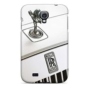 Best Cell-phone Hard Covers For Samsung Galaxy S4 (xPS2465DDyL) Custom Lifelike Rolls Royce Logo Series