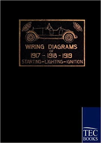 1917 - 1919 Automobile Wiring Diagrams: Amazon.es: American ... Automobile Wiring on electrical engineering, knob-and-tube wiring, wiring diagram, national electrical code, electric motor, circuit breaker, electrical conduit, junction box, three-phase electric power, distribution board, earthing system, power cord, electric power distribution, power cable, extension cord, ground and neutral, alternating current,