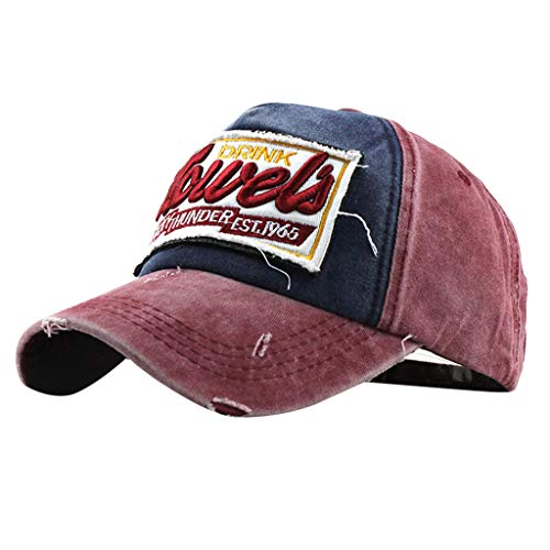 - TOTOD Baseball Hats Outdoor Sport Hip hop Style Shabby Adjustable Embroidered Caps Under 5 Dollars