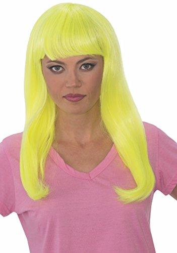Rubie's Women's Glow Babe Wig, Yellow, One -