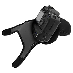 Fotodiox Neoprene Zoom Camera Cover Sleeve forCanon EOS 10D, 20D, 30D, 40D, 50D, 60D, 70D, 7D, 5D, 5D Mark II with Battery Grip