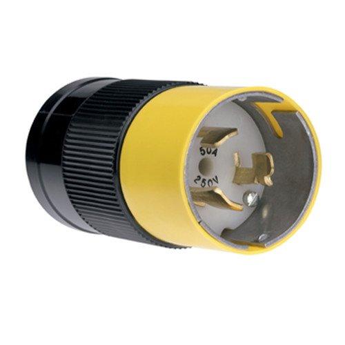 - Legrand-Pass & Seymour Pass & Seymour CS8265 Plug California Standard Style 50 Amp 250 Volt Turnlok