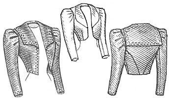 Civil War Ball Gown Pattern - 1898 Eton Jacket Pattern