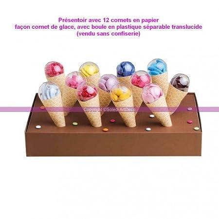 Expositor 12 conos de productos con bolas de plástico ...