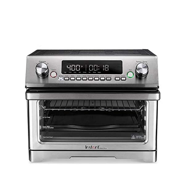 Instant Omni Plus Air Fryer Toaster Oven 11 in 1, 26L, Rotisserie, Reheat Pizza, XL 1